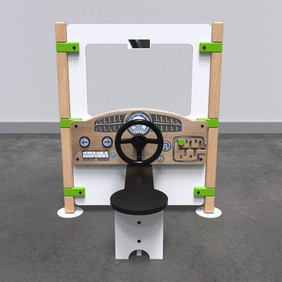 Op deze afbeelding staat een Speelhek Dashboard