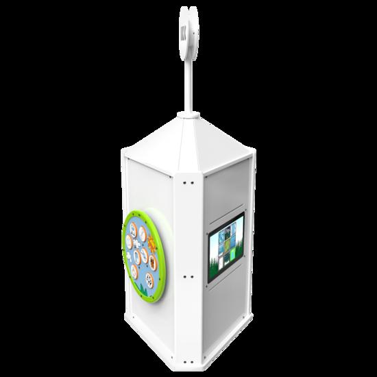 Speeltoren voor een kinderhoek met meerdere spellen interactief  | IKC speelsystemen