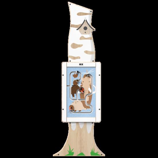 De uitstraling van een berkenboom als toevoeging aan uw kinderhoek   IKC speelsystemen