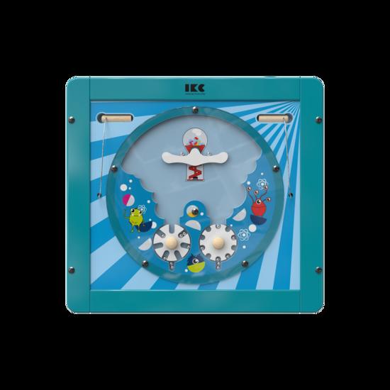 Verplaats de ballen door aan de draaischijven te draaien   IKC wandspellen