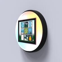 Op deze afbeelding staat een interactief speelsysteem Bubble playtouch led