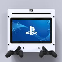 Op deze afbeelding staat een interactief speelsysteem Delta 21 inch Playstation